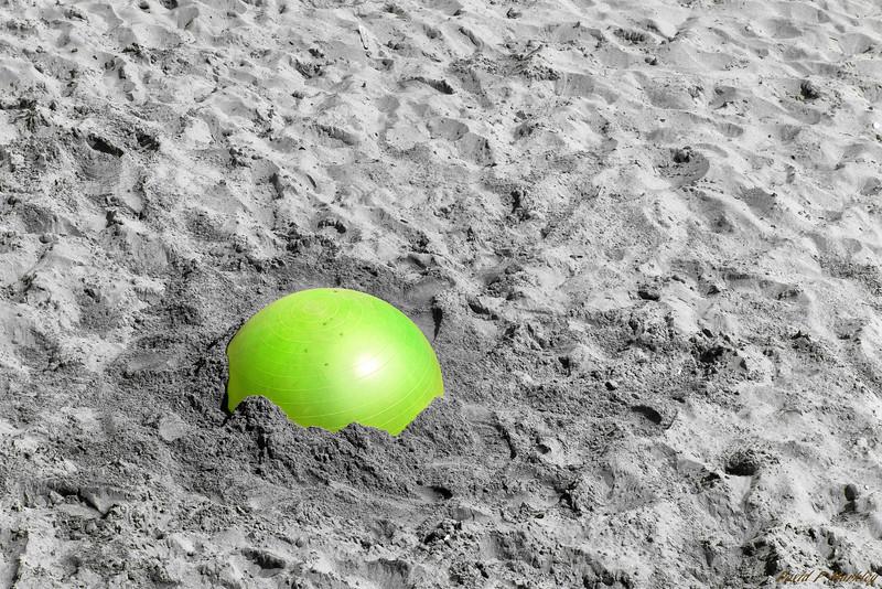 Glowing Green Ball