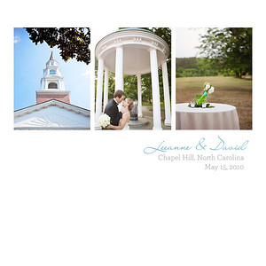 Leeanne + David: Album Design