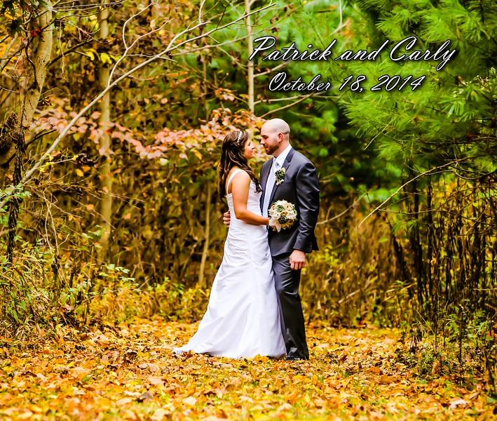 Carly & Pat 13x11 Wedding Album