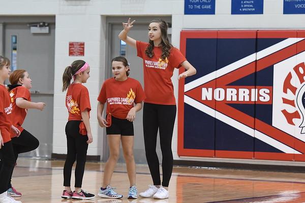 Dance Team - Northwest Girls Basketball game