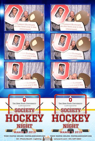 OSU Society Hockey Night - 3/2/2019