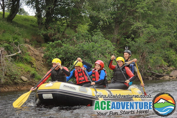 14th Aug 2015 Half Day Rafting on The Findhorn