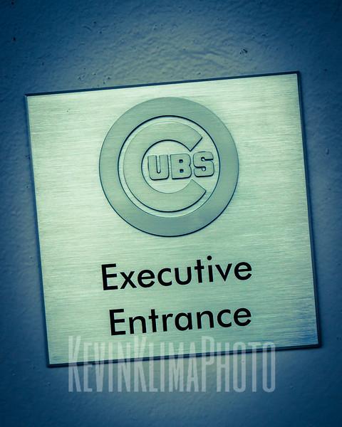 Chicago Cubs Executive Entrance