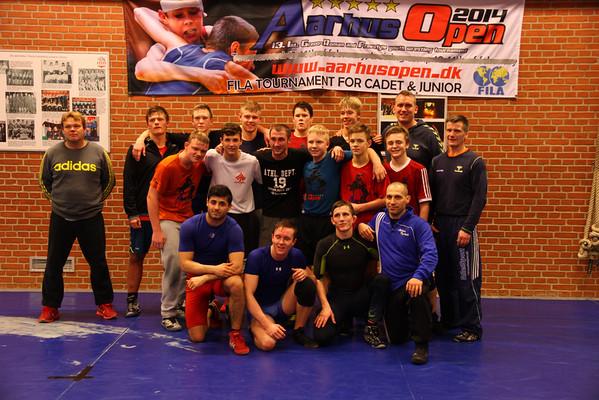 Træningssamling Thrott dec 2014