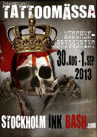STHLM Inkbash - Münchenbryggeriet 30/8 - 1/9 2013