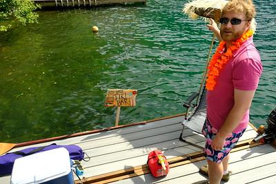 Tiki Barge