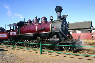 The Skunk Train - Fort Bragg, CA