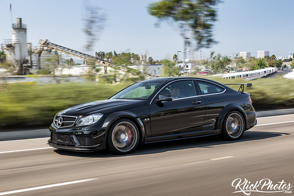 Mercedes Benz C63 AMG Black Series Rollers - July 31st, 2016