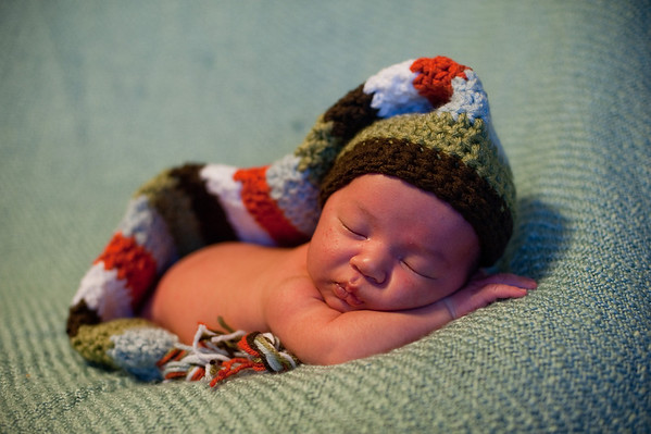 Charlie newborn