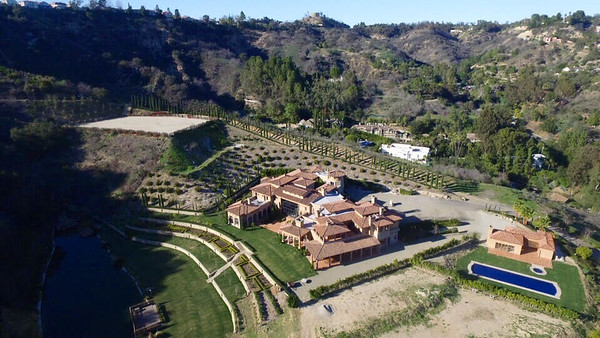 Lake House Party Beverly Hills Estate