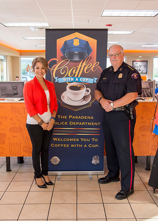 2016 Coffee With A Cop - Whataburger