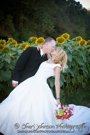 Sheri & Tony 2016 Wedding Sunflower Farm Pics
