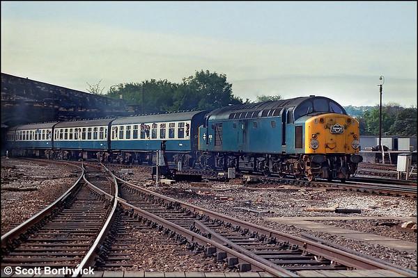Class 40: British Rail
