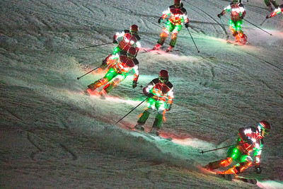 Night Demo Skiing
