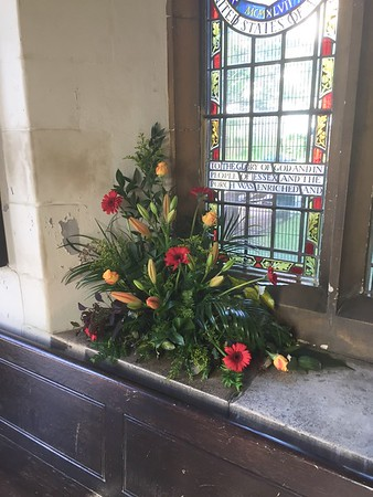 Flowers for Pentecost 2019