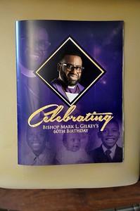 Celebrating Bishop Mark L. Gilkey 60th Birthday May 17, 2019