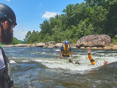Charlie Walbridge Swiftwater Rescue Clinic 6/17-18/18 on the Cheat Narrows