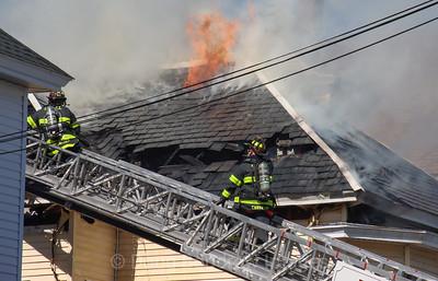 Lowell, MA - 4th Alarm, 95 Andrews Street, 3-12-21.
