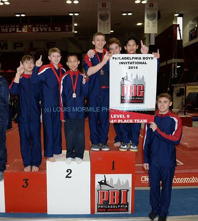 Philadelphia Boys' Gymnastics Invitational at Temple University - Feb. 15, 2014
