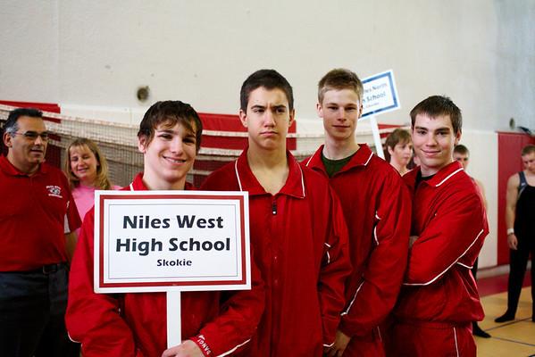 2008.05.10 - Boys' Gymnastics - Niles West @ State Meet