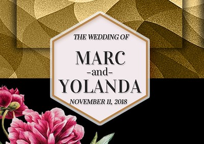 Marc & Yolanda's Wedding!