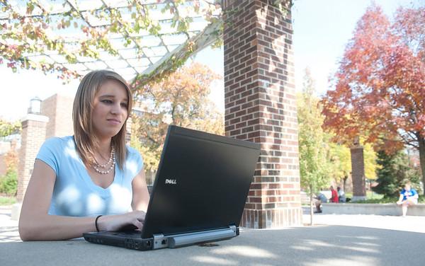 Laptop on Campus
