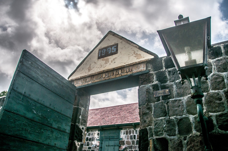 Entrance to Fort Oranje in Oranjestad, St. Eustatius