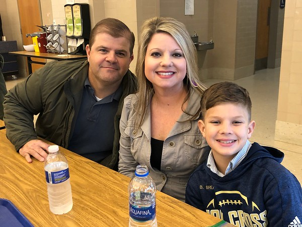 5th Grade Parent Son Lunch 1/27/2020