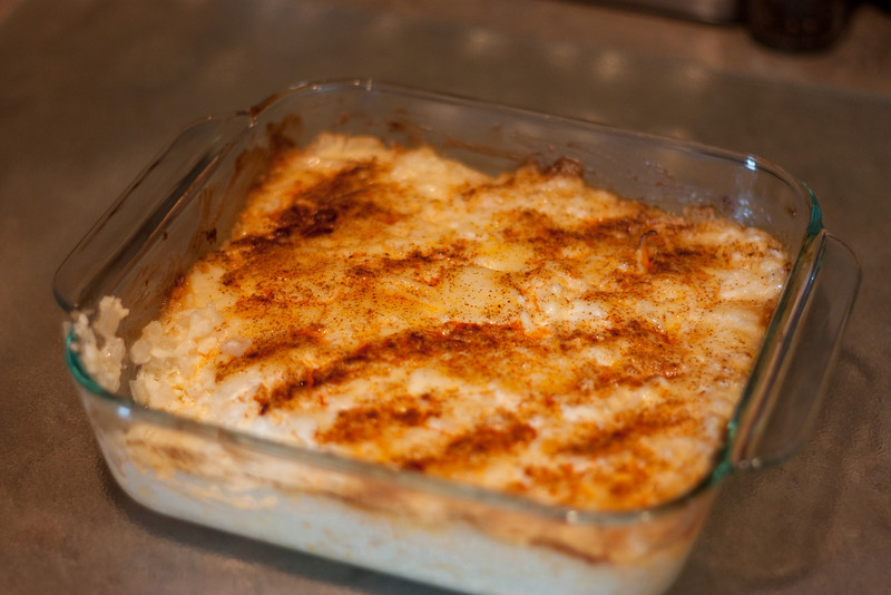 Cheese and onion dip