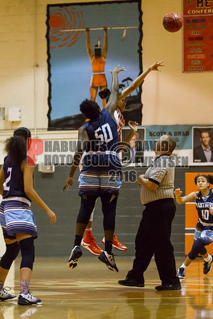 Girls Varsity Basketball #32 - 2016