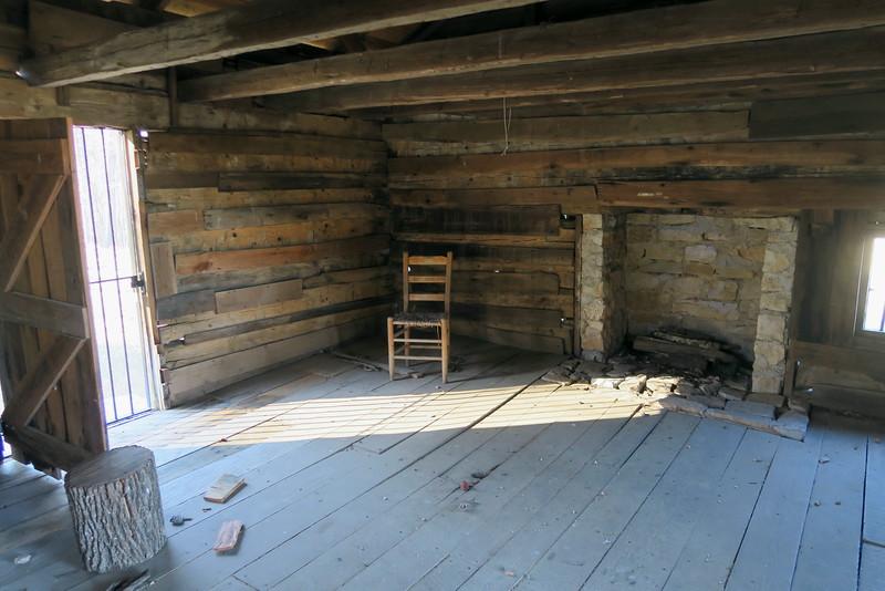 Snodgrass Cabin (interior)