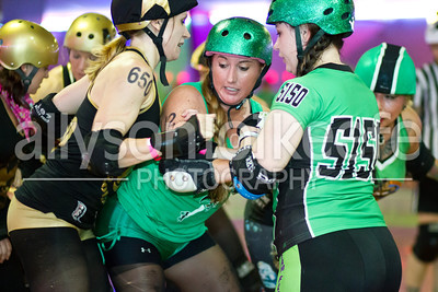 Big Easy Rollergirls vs. ACRG 1