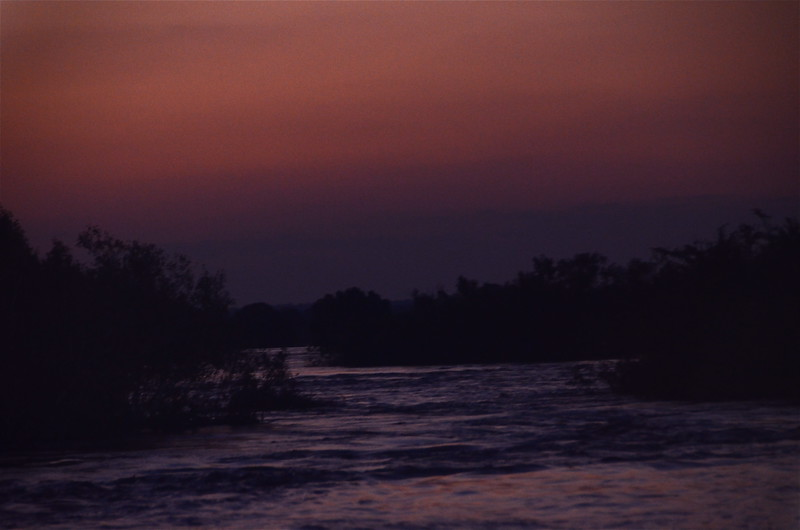 115 Sunset in Zambia - Anne Davis