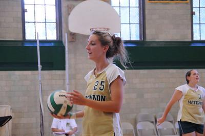 2008-09-11 Matignon High School Girls Volleyball