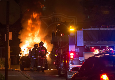 June 24, 2018 - Vehicle Fire - Goodwood Park Cr & Dawes Rd.