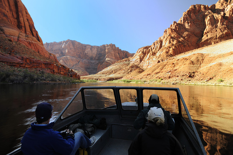 Headed into Glen Canyon at Lees Ferry.jpg