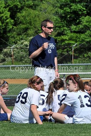 Holy Name VS Schuylkill Valley Junior High Girls Soccer