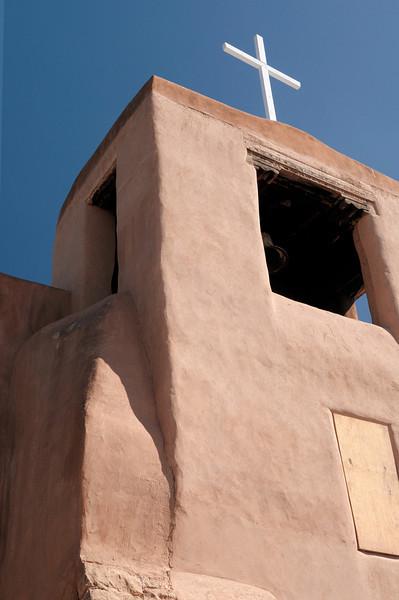 San Miguel Chapel, built ~1610.   Santa Fe, New Mexico: our September 2010 trip.