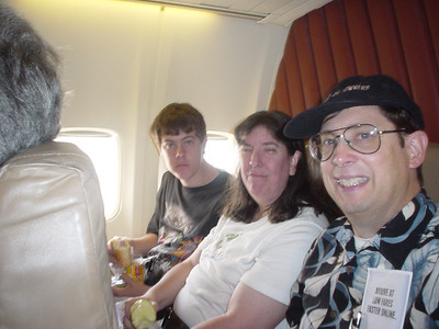Flying to Mary and Jack's House