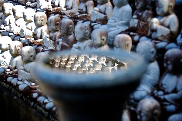 Korean Buddhas - Palolo Valley, O'ahu