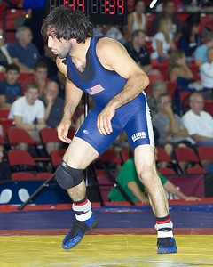Men's Freestyle Championships 60 Kg: 1st Place - Mike Zadick of Gator WC  2nd Place - Shawn Bunch of Gator WC