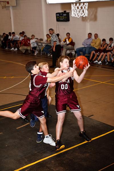 RCS Boys' JH Basketball VS SRVCA