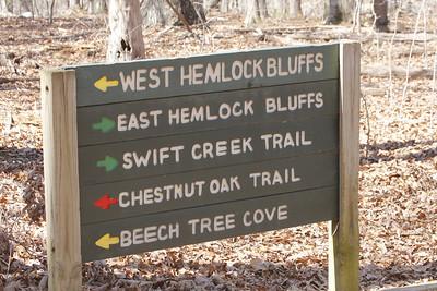 Hemlock Bluffs Nature Preserve 3/2013