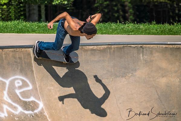Lake Fairfax Skatepark 8-4-18