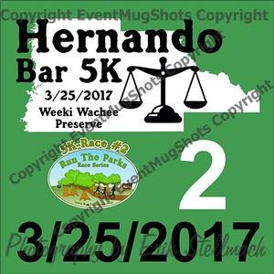 2017.03.25 Hernando Bar 5K