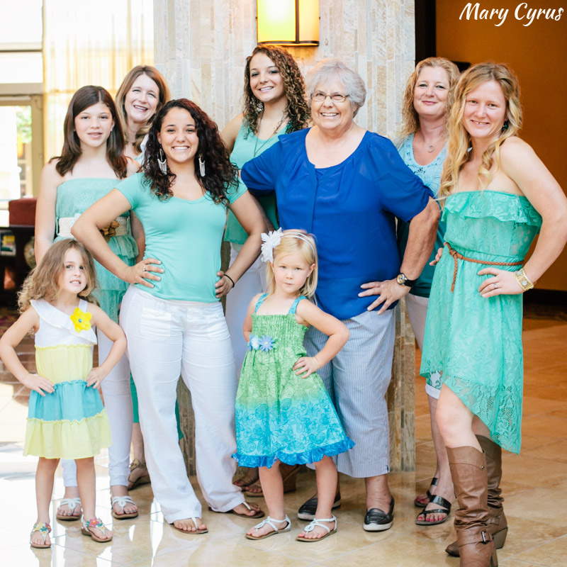 Extended Family Portraits in Allen, Texas by Mary Cyrus Photography
