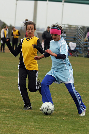 Piranhas Soccer - Mansfield Tournament - Game 2 (11/22/2008)