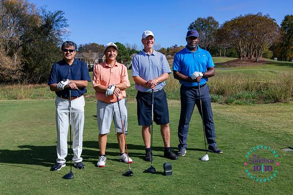 Sandbox 2020 Golf Tournament Foursomes