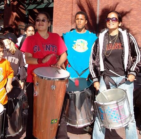 Carnaval San Francisco 2006 Gaints Night at AT&T Park