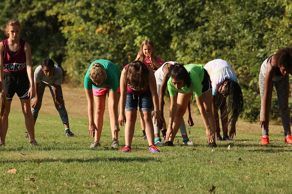Middle School Cross Country Competition 2017
